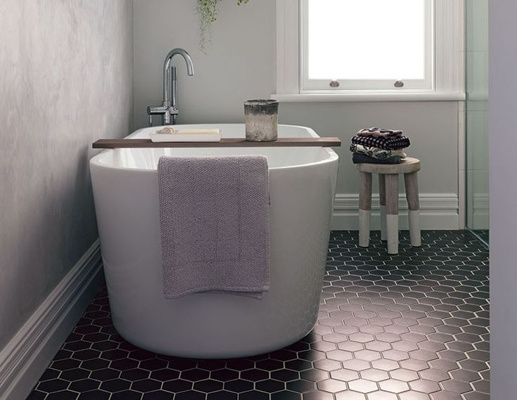 Create Photo Gallery For Website This bathroom features the Heritage Tiles black Hexagon tile Works brilliantly with the traditional