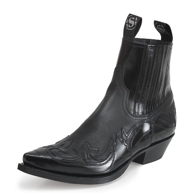 Sendra Boots 4660 Cuervo Sprinter Negro