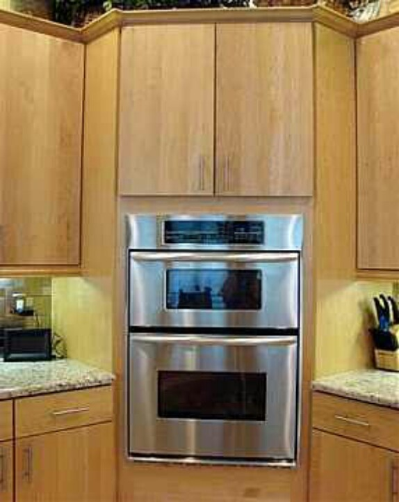 Corner microwave affordable corner kitchen cabinet for Cheap white kitchen wall units