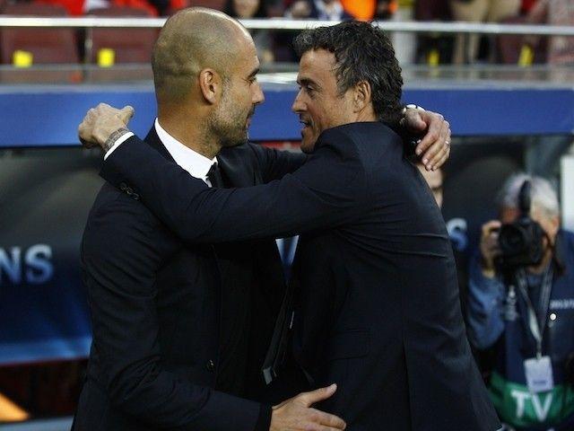 Luis Enrique: 'Pep Guardiola best coach around' #Champions_League #Manchester_City #Barcelona #Football