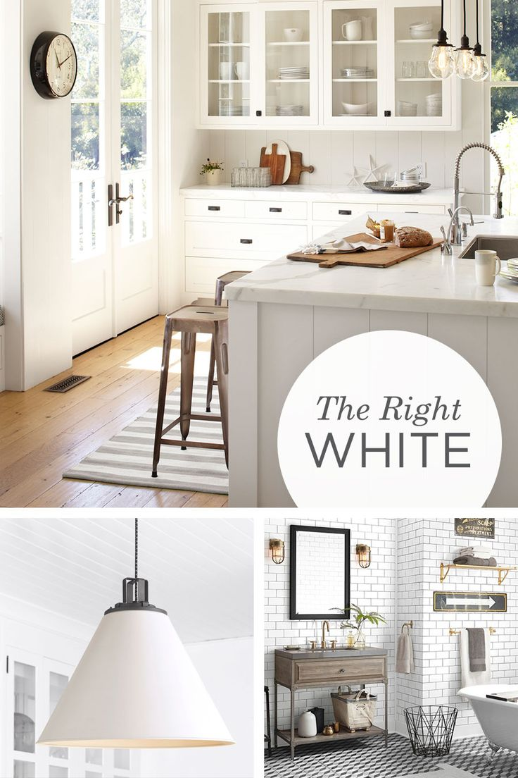 Color 101: Embracing white in your room design. From the appeal of the white-on-white kitchen to the allure of crisp, clean sheets and bedding, the reasons to embrace white in design are endless.