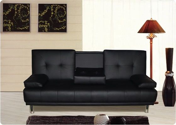 Cheap Sofa Beds for Your Modern Home: Wonderful Black Modern Style Cheap Sofa Beds Artistic Design Ideas ~ anahitafurniture.com Furniture Inspiration