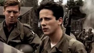 band of brothers liberation of concentration camp - YouTube