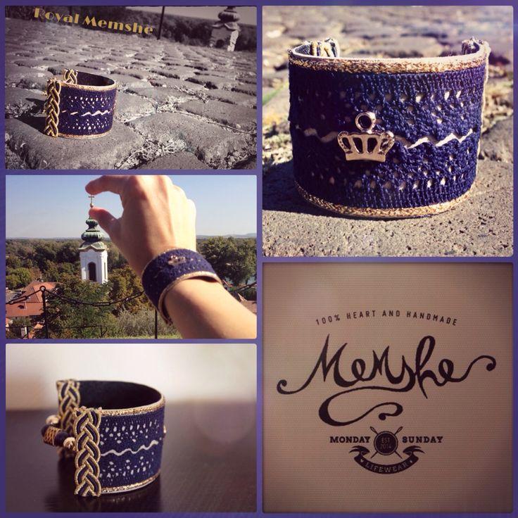 Royal Memshe / leather bracelet / AW15