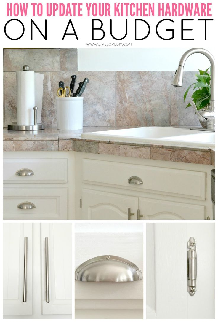 How to paint your kitchen cabinets in 10 easy steps (and where to find NICE kitchen hardware for CHEAP!). This is GREAT!