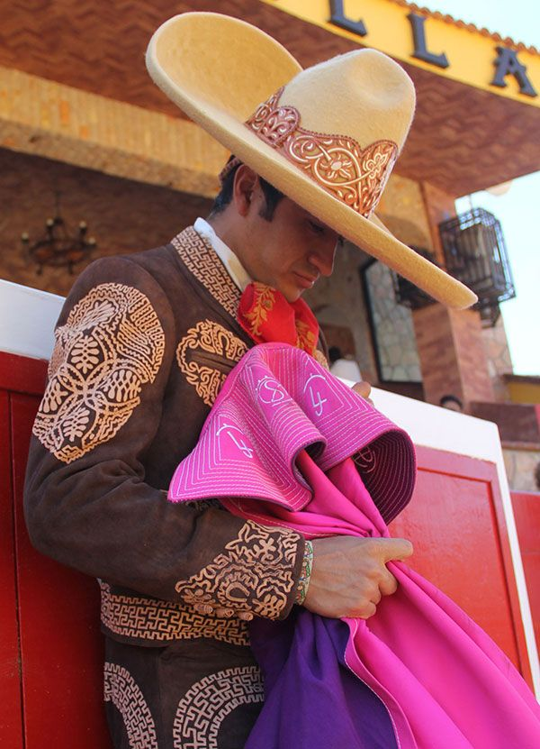 Joselito Adame, one of today's best Mexican bullfighters.
