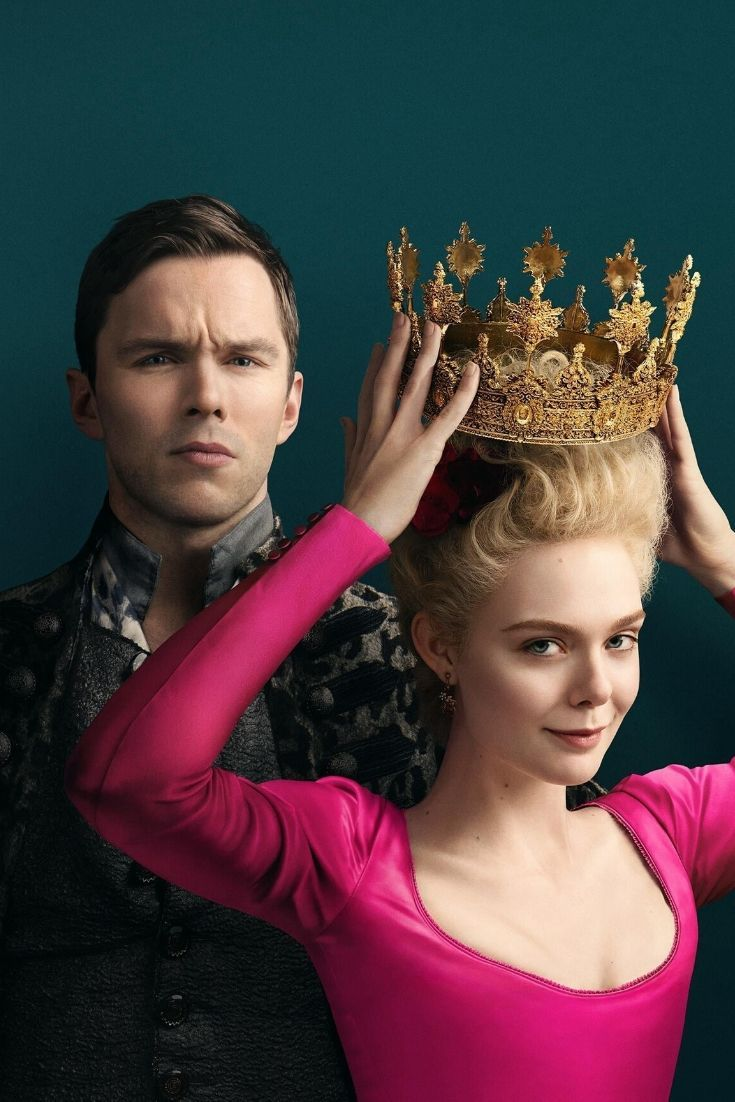 Catherine The Great Of Russia Hulu S Newest Show Featuring Elle Fanning And Nicholas Hoult In 2020 Catherine The Great Elle Fanning Nicholas Hoult
