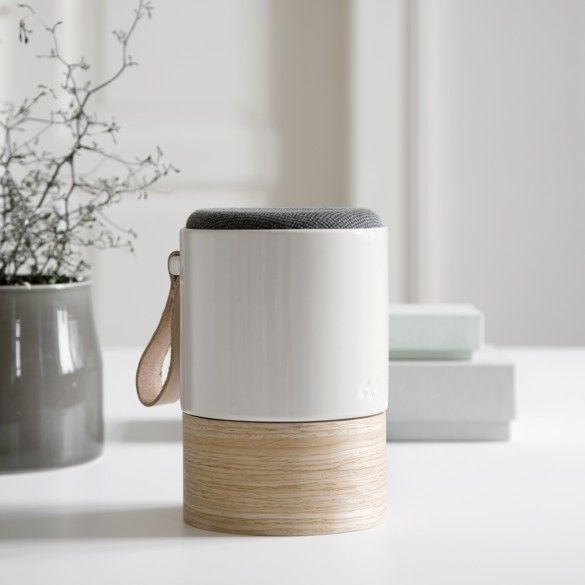 The beautiful and stylish Fugato speaker combines beautiful Danish design with high-quality sound.