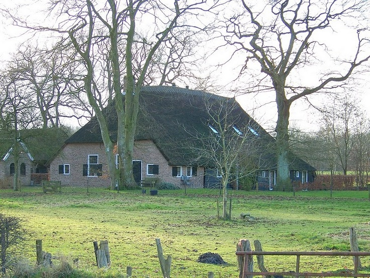 Very old farm in the province of Drenthe, the Netherlands