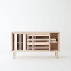 Wooden buffet, simple and well designed.   Discover more: www.buffetsandcabinet.com  | #modernbuffet #woodenbuffet