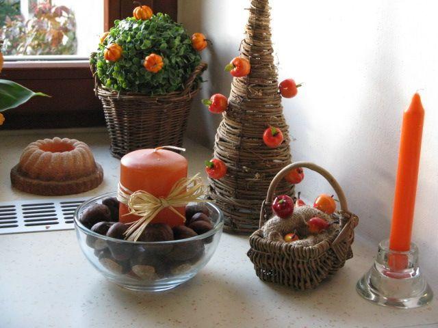 Podzimní dekorace v kuchyni