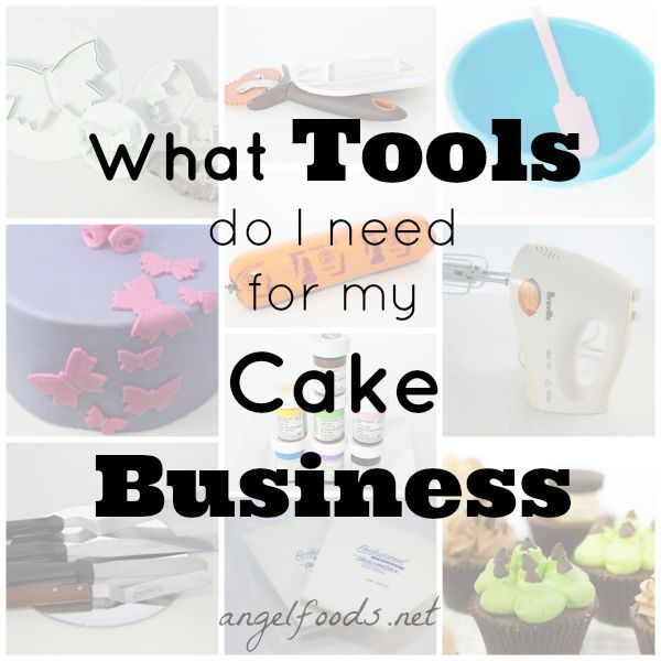 Tools To Buy For Starting A Cake Business