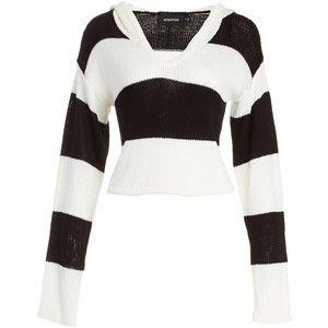 Minkpink Jail Bait Cropped Sweater