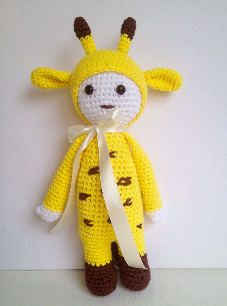 A personal favourite from my Etsy shop https://www.etsy.com/listing/521233919/crochet-giraffecrochet-dollcrochet