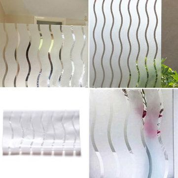 Seulement €5.04 ,acheter Film de fenêtre givrée vinyle vitraux papier ondulé vie privée couvrant sur Banggood.comAcheter fashion Stickers pour murs de salle de bain en ligne.