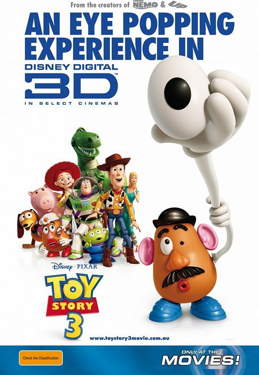 Toy Story 3 Movie Poster #30 - Internet Movie Poster Awards Gallery