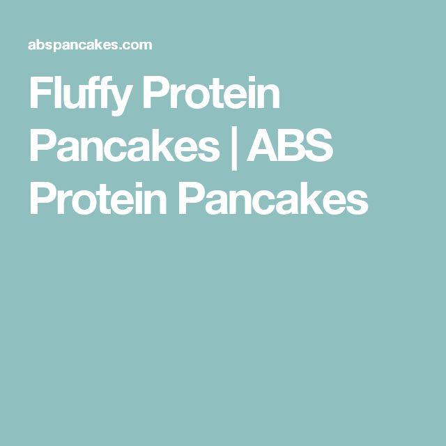 Fluffy Protein Pancakes | ABS Protein Pancakes