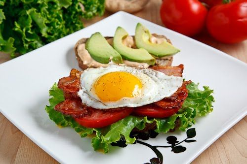 ... Egg And Chipotle Mayo | Recipe | Bacon, Egg on toast and Turkey bacon