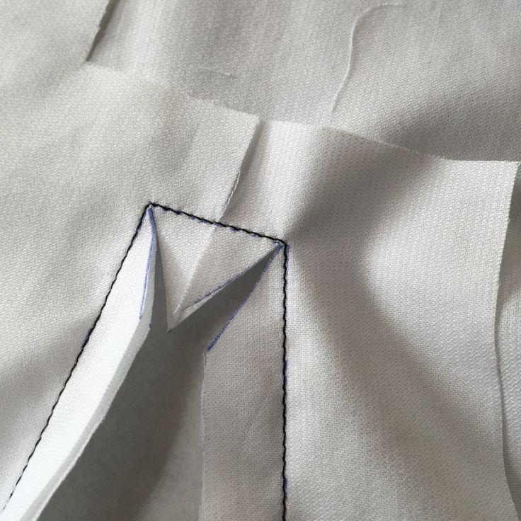 Sleeve placket tutorial