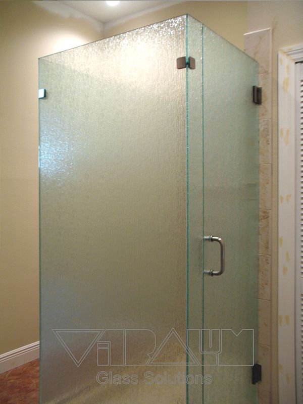 Beau ... Frameless Shower Enclosures Orlando Bathroom Doors ...