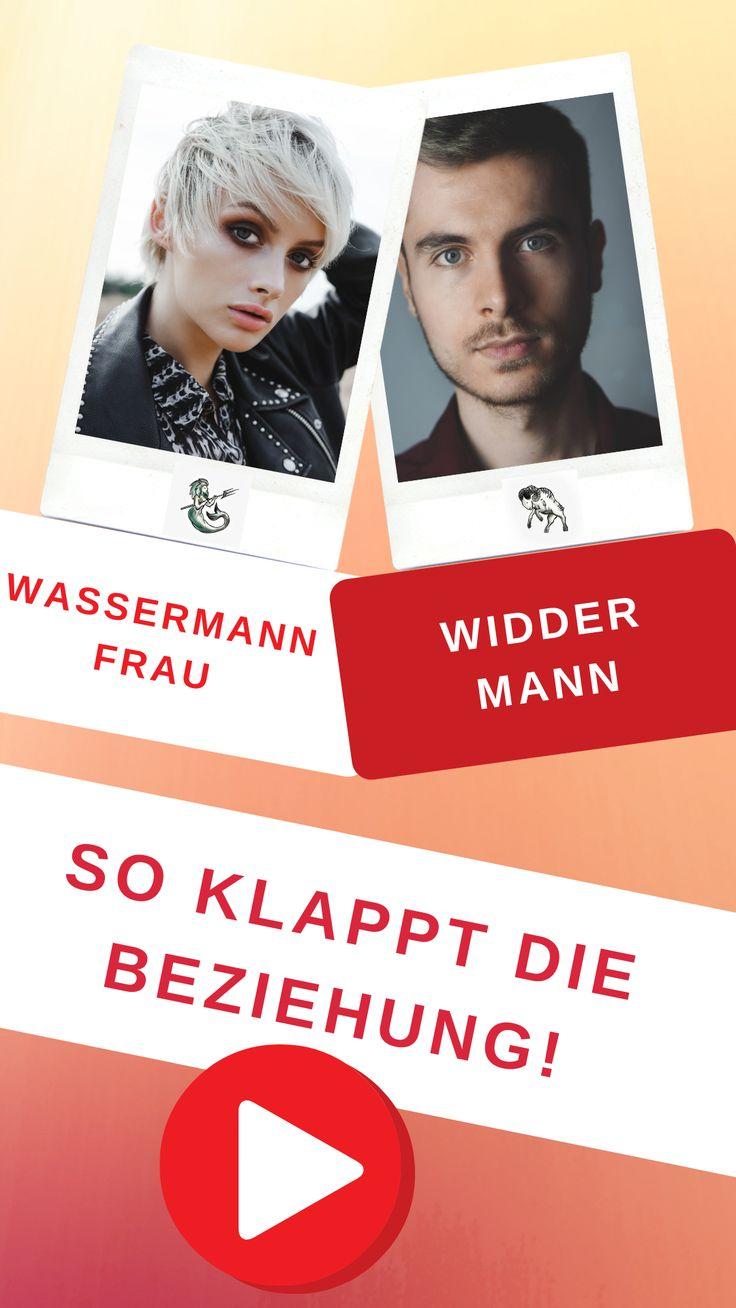 Widder-Mann & Wassermann-Frau Liebe und Partnerschaft