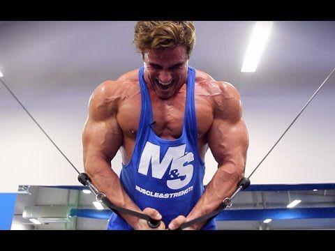calum von moger old school chest workout bodybuilding