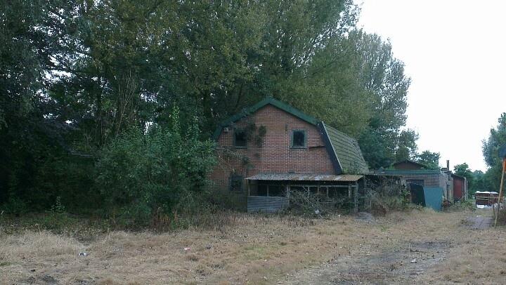 St. Pancras, the Netherlands. I love old sheds.