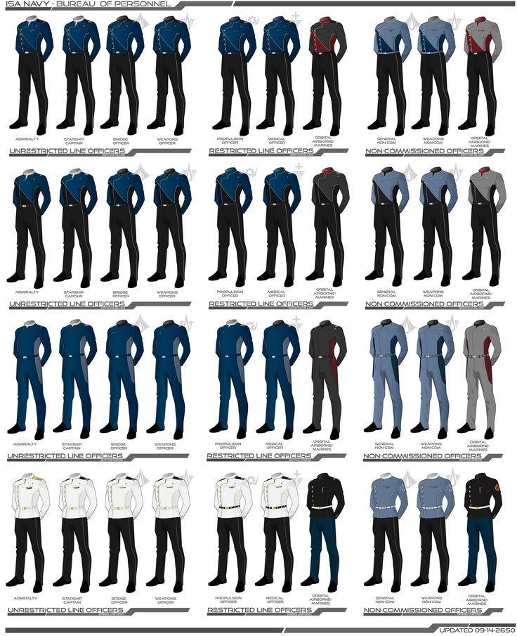 sci fi military uniforms - Google Search