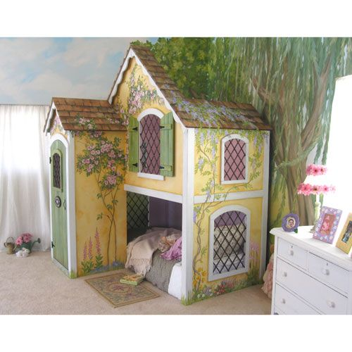 17 best images about posh and pampered kids on pinterest for Fairytale beds