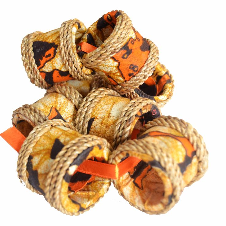 Check out this Water Hyacinth Napkin Rings(sets of 4) by Mitimeth available at www.nuerasamp.com.