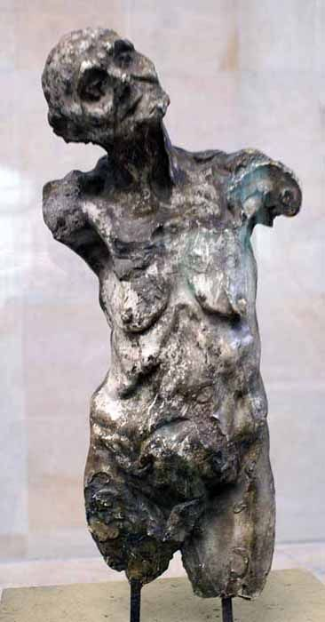 clothos, one of the fates Camille Claudel