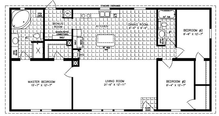 Blueprint Master Bathroom And Closet