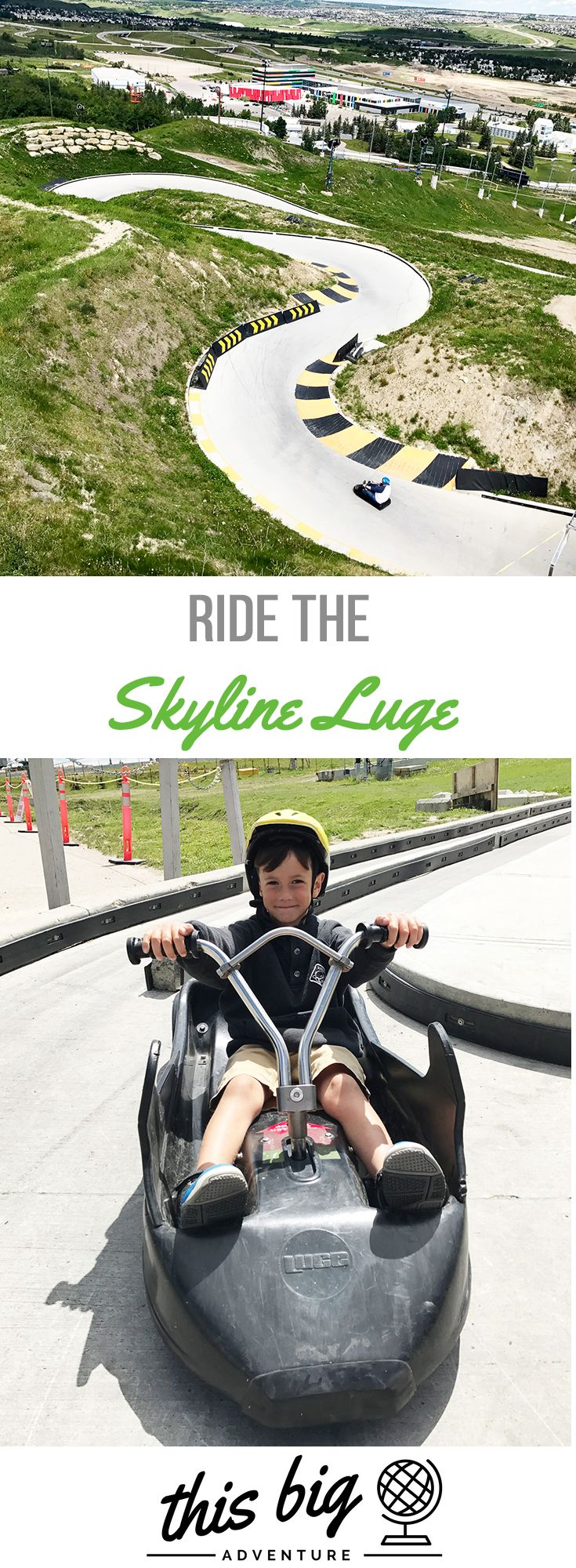 Ride the Skyline Luge
