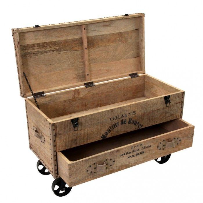 M s de 1000 ideas sobre baul madera en pinterest baul de - Baules antiguos de madera ...
