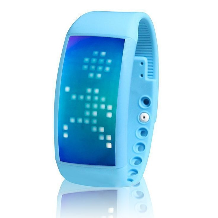 Smart Watch w/ Pedometer & Calories Counter in Blue | Buy New Arrivals