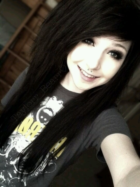 With Beautiful emo girls with black hair join
