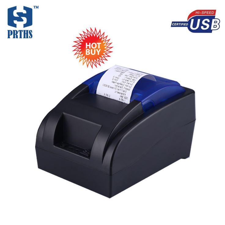 Barato 58mm USB impresora termal de la cuenta con nuevas versiones contacto conductor directamente a la computadora para el sistema pos impresora de recibos HS-58HU