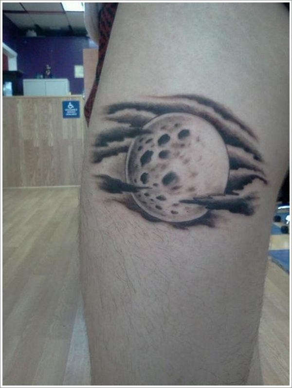 Moon And Cloud Tattoo Small: 30 Best Images About Moon Tattoo Design On Pinterest
