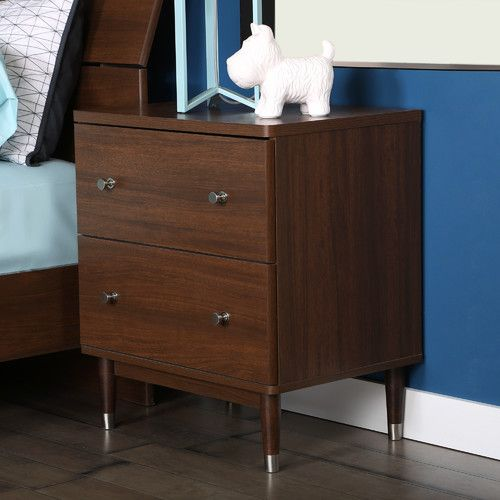 Found it at AllModern - Olly 2 Drawer Nightstand
