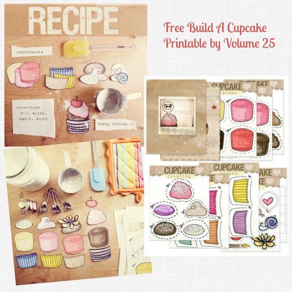 Free Build a Cupcake Activity