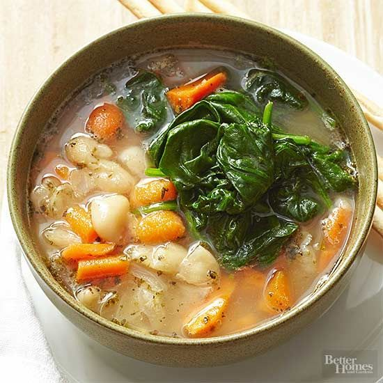 Warm up on a chilly day with this Tuscan Bean Soup recipe.