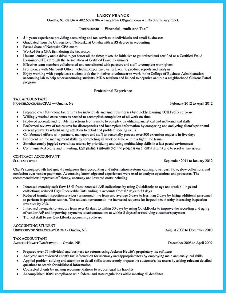 nice Making a Concise Credential Audit Resume, resume template - internal auditor resume