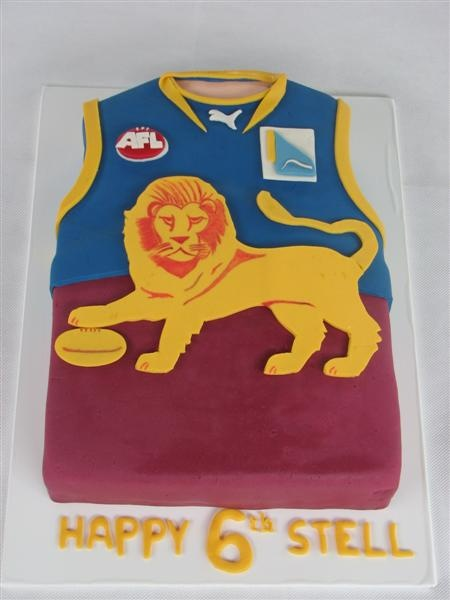 Brisbane Lions cake ???? Next cake for jack!!