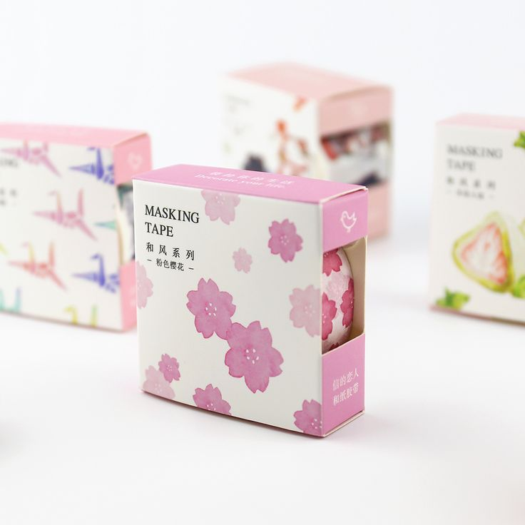 Vintage Japanese Style Decorative Washi Tape DIY Scrapbooking Masking Tape School Office Supply