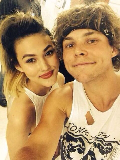 Ashton With a girl from Neon jungle