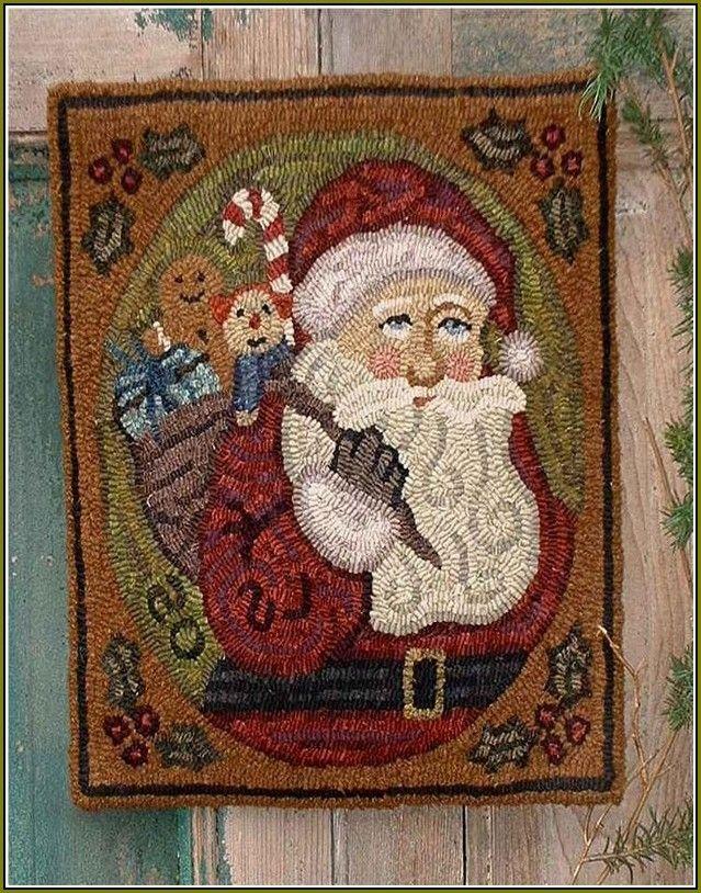 Image result for wool rug hooking