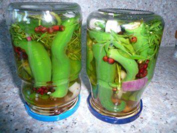 Rezept: Chilifan`s eingelegte Peperoni Bild Nr. 2