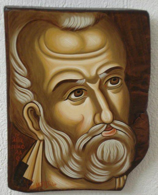 Γιάννης Μουρατίδης - αγιογράφος
