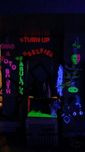242 Best Images About Neon Party Light Up The Nite On
