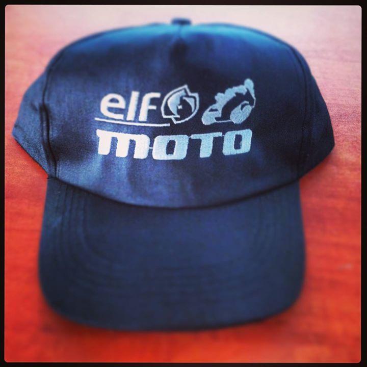 Navy hat with embroidery Elf moto. www.blazos.com